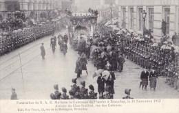 BRUXELLES FUNERAILLES DE S.A.R. LA COMTESSE DE FLANDRE 30/11/12 - Funérailles