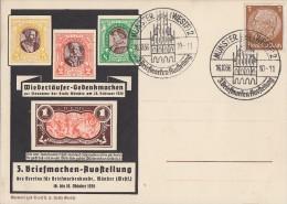 DR Sonderkarte EF Minr.513 SST Münster 16.10.36 Ansehen !!!!!!!!!!! - Briefe U. Dokumente