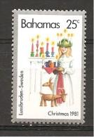 BAHAMAS - 1981  Natale In Svezia  Nuovo**  MNH - Natale