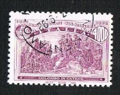 Italia-1992 Celebrazioni Colombiane  - £. 4.000   - Usato Sicuro - 6. 1946-.. Repubblica