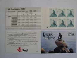 Danemark - 1989 - Carnet C947 ** La Petite Sirène - 10 Timbres 32 K - Booklet Little Mermaid - Michel : N° 943 X 10 - Carnets