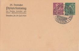 DR Privat-Ganzsache Minr.PP68 C2 SST Dresden 28.7.23 - Deutschland