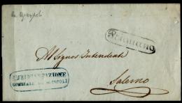Prignano 00620c - Mutilato Piego - Nel Colore Nero è Noto Solo Nel 1858 - - Napoli