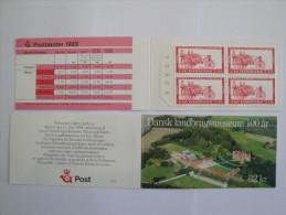 Danemark - 1989 - Carnet C956 ** Musée Agricole - 10 Timbres 32 K - Booklet Farm Museum Miche:l 953 X 10 - Carnets