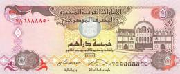 U.A.E.  EMIRATOS ARABES UNIDOS  5 DIRHAMS 2.007  KM#26b  SC/PLANCHA      DL-7292 - Emiratos Arabes Unidos