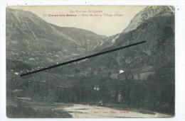 CPA - Les Pyrénées Ariègeoises - Ussat Les Bains -Hôtel Modèle Et Village D´Ussat - Francia