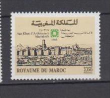 Maroc YV 1015 N 1986 Prix Aga Khan - Maroc (1956-...)