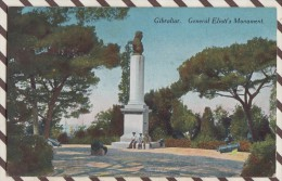 5AH274 GIBRALTAR GENERAL ELIOTT'S MONUMENT  2 Scans - Gibilterra