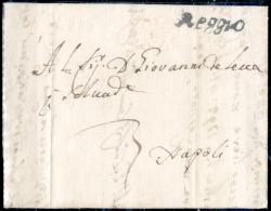 Reggio 00624 - Raro Piego Del 23 Febbraio 1805 (con Testo). - Italia