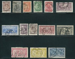 C068 Greece 1906 Olympic Games Complete Set Used - Usados
