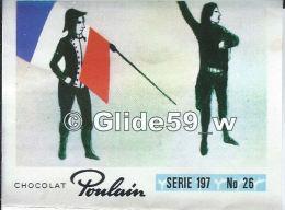 Chromo - Chocolat Poulain - Série 197 - N° 26 - Album N° 9 - Composé Par Un Jeune Officier De L'Armée Du Rhin - Rouget - Poulain