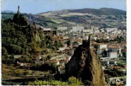 Le Puy En Velay - Rocher D'aiguilhe - Chapelle St Michel - Rocher Corneille - Statue ND  De France - Le Puy En Velay