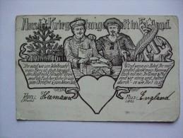 GERMANY KRIEGSGEFANGENENPOST IN ENGLAND ILLUSTRATION CARD SENT FROM MANCHESTER  TO REUTLINGEN - Germany