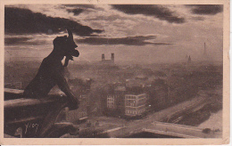 CPA Paris - Notre Dame De Paris - Facade Ouest - Chimere - Tour Le Fond, L'Église Saint-Sulpice (11894) - Notre Dame De Paris