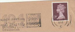 1975  COVER RADIO FORTH 194 LOCAL Radio EDINBURGH Broadcasting Gb Stamps - Telecom