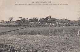 MONTESQUIEU LAURAGAIS 31 ( VUE GENERALE PRISE AVENUE DE VILLEFRANCHE ) 1917 - Francia