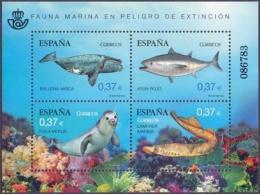 Spain - Marine Fauna, Souvenir Sheet, MINT, 2013 - Marine Mammals