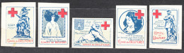 Croix Rouge - Belfort - Commemorative Labels