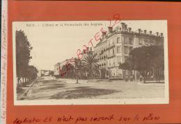 CPA  06  NICE  Hôtel Et La Promenade Des Anglais    FEVR 2015 DIV 169 - Nice