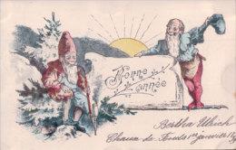 Bonne Année, Nains Et Soleil 1898 (31.12.98) - Nieuwjaar