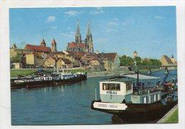 GERMANY - AK 219160 Regensburg An Der Donau - Donauhafen - Regensburg