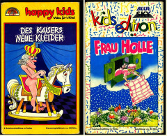 2 X VHS Video Kinderfilme  -  Frau Holle  /  Des Kaisers Neue Kleider  - - Kinder & Familie