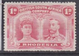 Southern Rhodesia (BSAC) 1910 1d Bright Carmine Perf 13.5, Used - Southern Rhodesia (...-1964)