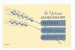 Buvard , LES 3 FARINES  JACQUEMAIRE - Food