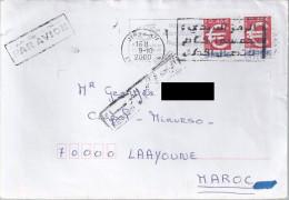 Lettre De France Pour Le Maroc. (Civpol Minurso) (Voir Commentaires) - France