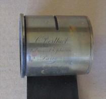 Objectif  BERTHIOT  Laiton Système à Vanne Avec Bague. Diam. 5 Cm Haut 5,5 - Matériel & Accessoires