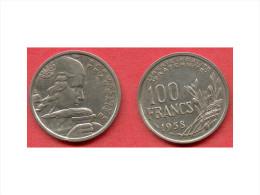 100 FRANCS COCHET DE 1958 B - N. 100 Francs