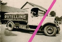 CAMION CITERNE  STE LILLE BONNIERES & COLOMBES *MARQUE STELLINE * DEPOT DE ROUEN *  LE 29 JUIN 1933  * - Camions & Poids Lourds