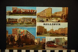 69 RILLIEUX   DIVERSES VUES  VOITURES  ANNEES 1960 1970 - Rillieux La Pape