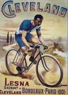 MAGNET (FRIDGE MAGNET) SIZE.7X5 CM. APROX -  Vintage Advertising Cycles - Sport