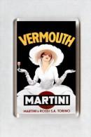 MAGNET (FRIDGE MAGNET) SIZE.7X5 CM. APROX -  Vintage Advertising - Deportes