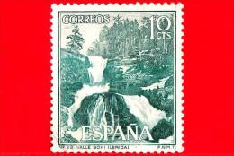 SPAGNA - USATO - 1966 - Turismo - Valle Del Bohí - Cascate - Bohí Valley (Lérida) - 10 - 1931-Heute: 2. Rep. - ... Juan Carlos I