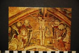 Kernascléden - Fresques Du XV ème Siècle - Le Crucifiement     NON VOYAGEE - Altri Comuni