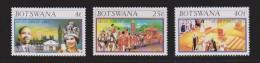 Botswana QEII Silver Jubilee Set 3 MNH - Bophuthatswana