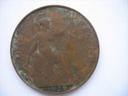 1 PENNY 1920 - D. 1 Penny