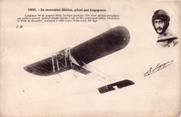 Le Monoplan BLERIOT Piloté Par LEGAGNEUX ( Aviateur Avion …) Circulée 1920 - Flieger