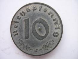 10 REICHSPFENNIG 1941 J - 10 Reichspfennig