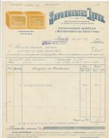 Nord, Haubourdin Les Lille, Savonneries Lever 1921 - Drogerie & Parfümerie