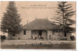 47 - PUJOLS, PAR VILLENEUVE-SUR-LOT . LA ROCAILLE - Réf. N°8183 - - Autres Communes