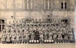 CPA 1217   - MILITARIA - Carte Photo Militaire - Soldats - Musiciens N° 2 Sur Les Képis  - Fanfare - Personen