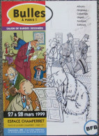 Bravo Emile -  Carton Promo Festival Bulles A Paris 1998 - Livres, BD, Revues