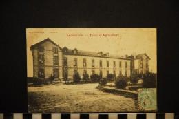 CP, 03, GENNETINES, Ecole D'Agriculture, Voyagé En 1906 - France