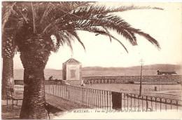 § PROMO § 83 - SAINTE MAXIME Vue Du Golfe Prise De La Place Des Palmiers Animée - Sainte-Maxime