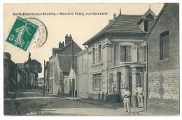 Cpa: 76 SAINT ETIENNE DU ROUVRAY (ar. Rouen) Nouvelle Poste, Rue Gambetta. - Saint Etienne Du Rouvray