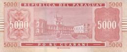 PARAGUAY P. 223c 5000 G 2010 UNC - Paraguay