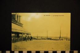 CP, 80, LE CROTOY, Le Kursaal Et Le Port, Ecrite En 1916, Ed : Vve Bouchez-Ouin - Le Crotoy